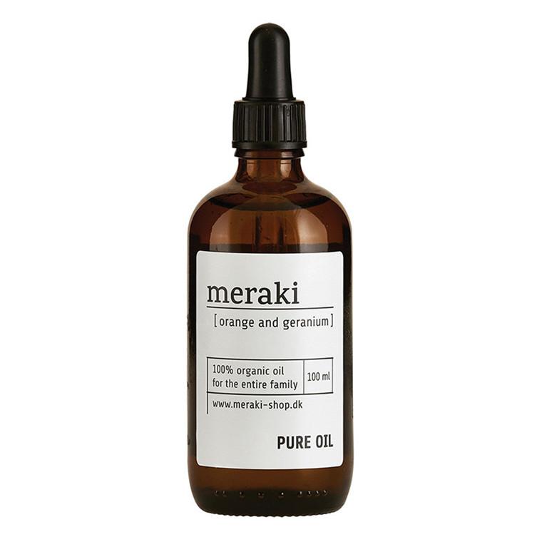 Meraki Pure oil Appelsin & Geranium 100 ml