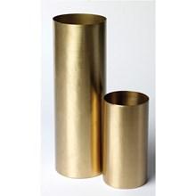 H. Skjalm P. Vase cylinder Messing