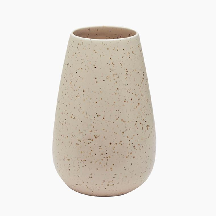Mette Duedahl Vase høj Eggshell