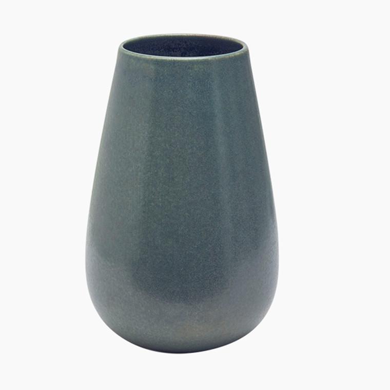 Mette Duedahl Land tall Vase Petrol