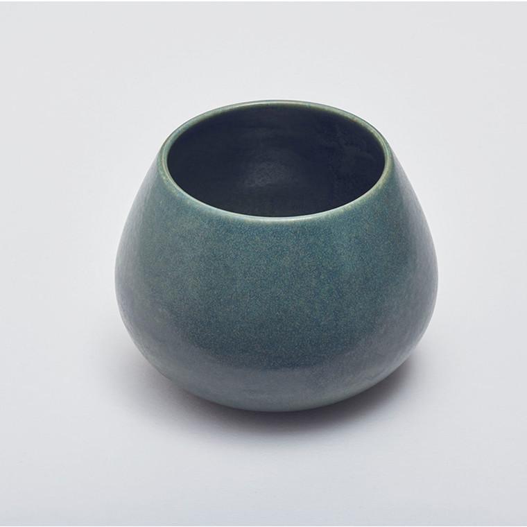 Mette Duedahl Vase Lav Petrol