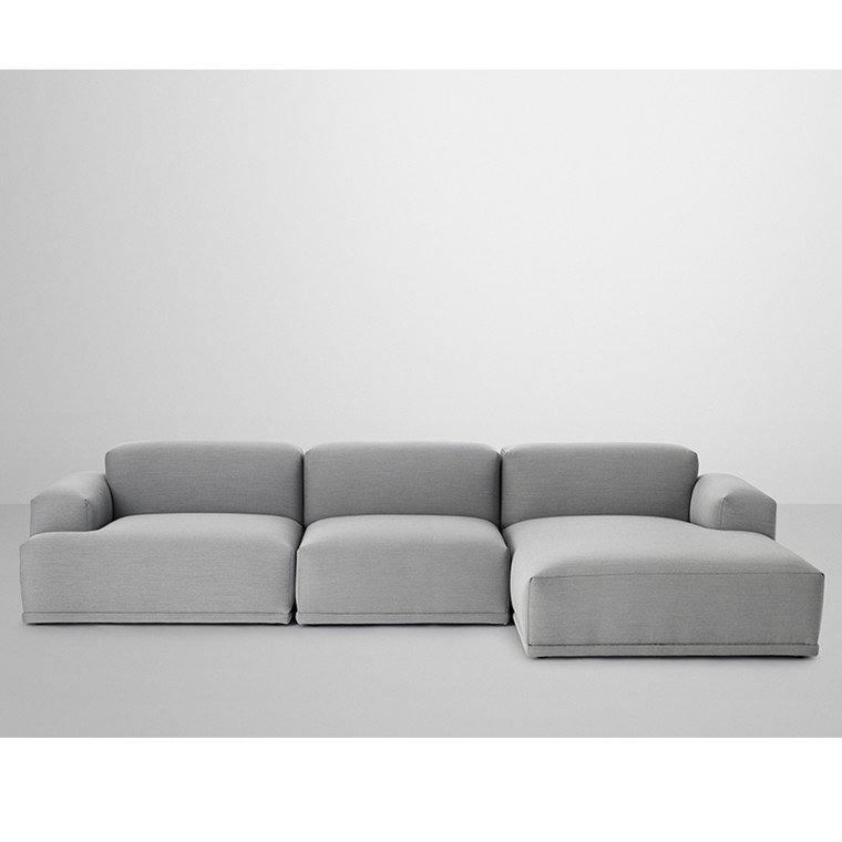 Muuto Connect Modul Sofa 3. personer med lounge