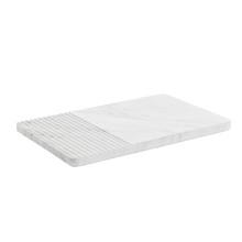 Muuto Groove Plate Hvid Marmor