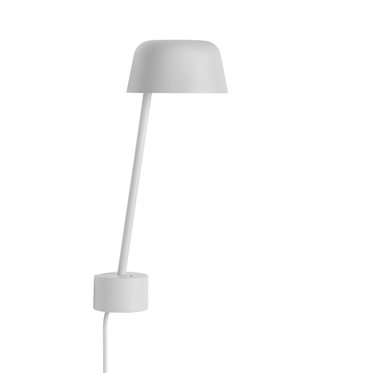 Muuto Lean Væglampe Grå