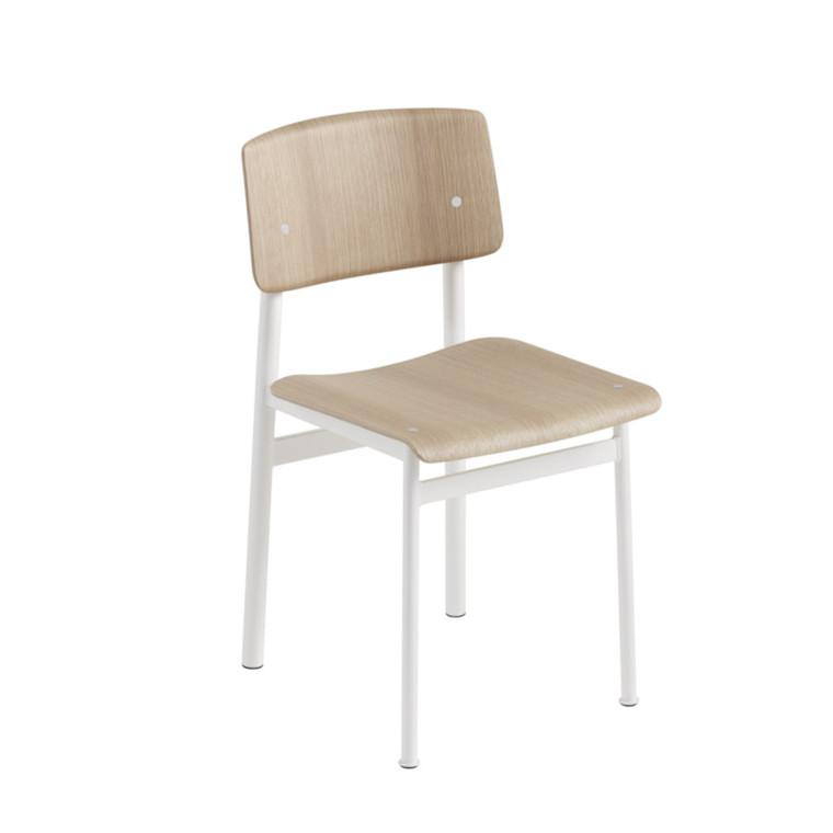 Muuto Stol Loft Hvid/Eg