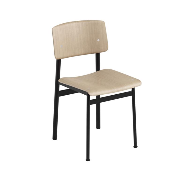 Muuto Stol Loft Sort/Eg