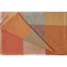 Muuto LOOM Plaid Tangerine