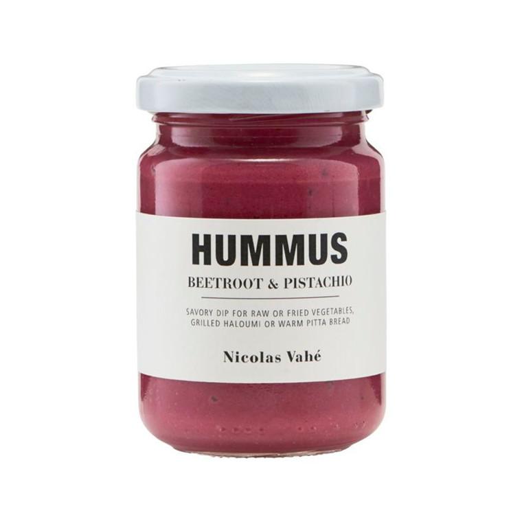 Nicolas Vahé Hummus M. Rødbede Og Pistacienødder
