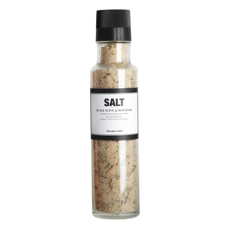 Nicolas Vahé Salt m. Sorte Oliven og Rosmarin