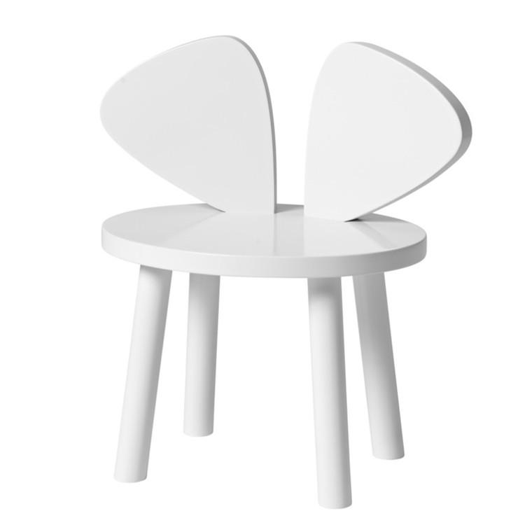 NoFred Børnestol Mouse Chair Hvid