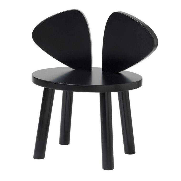 NoFred Børnestol Mouse Chair Sort