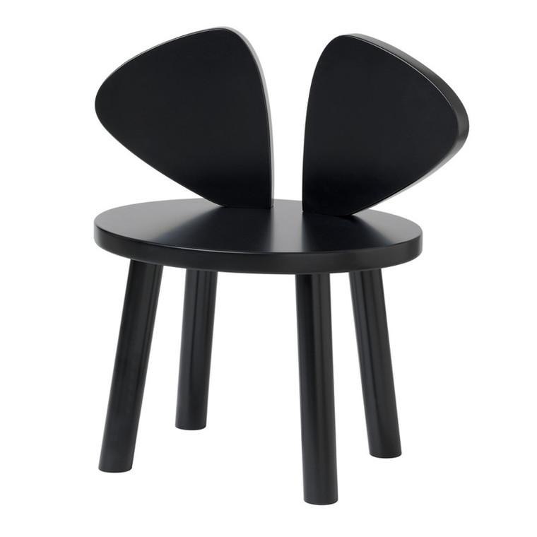 NoFred Børnestol Mouse Chair Sort