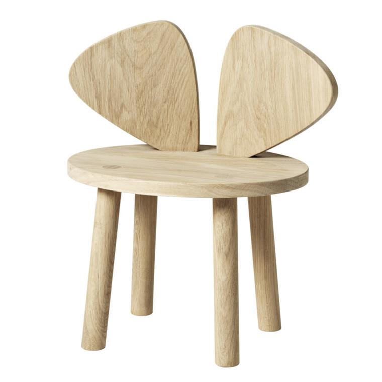 NoFred Børnestol Mouse Chair Eg