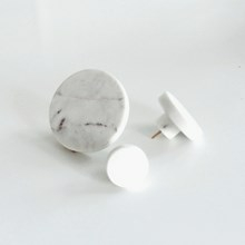 Nordstjerne Knage Hvid Marmor