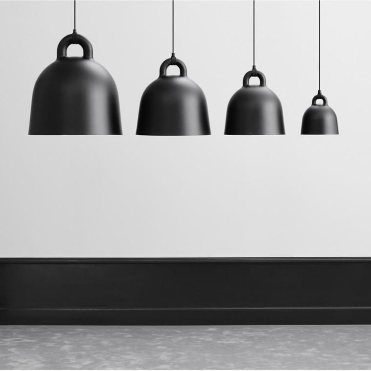 Normann Copenhagen Bell Lampe Sort