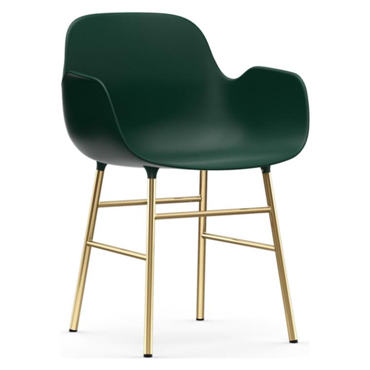 Normann Copenhagen Form Armchair Messing
