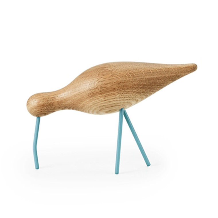Normann Copenhagen Shorebird havblå