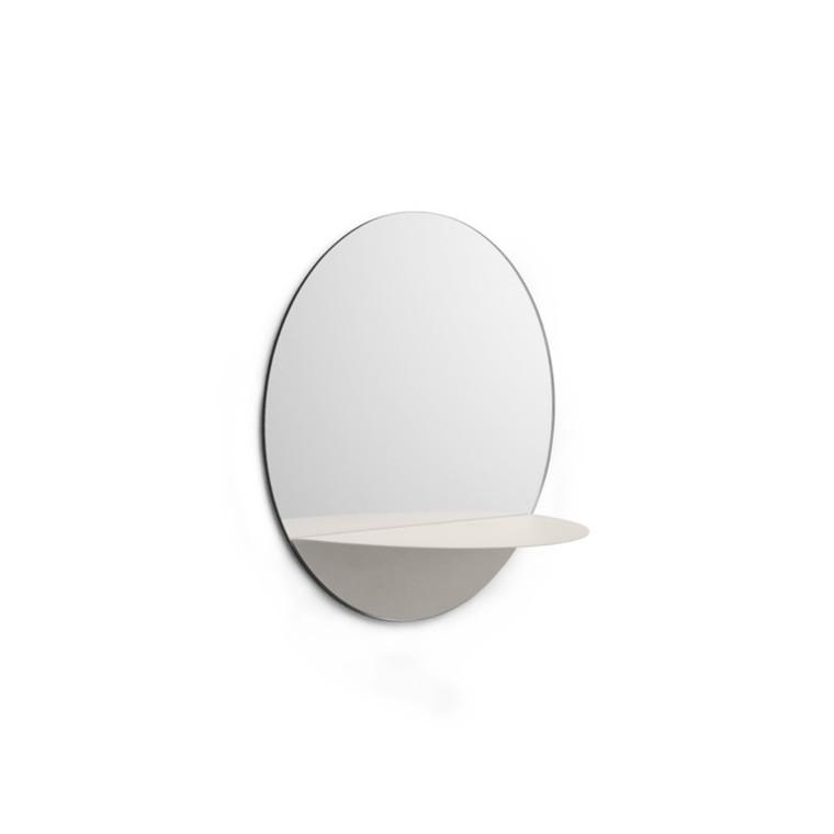 Normann Copenhagen Spejl Horizon Rund Hvid
