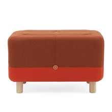 Normann Copenhagen Sumo Puf Orange