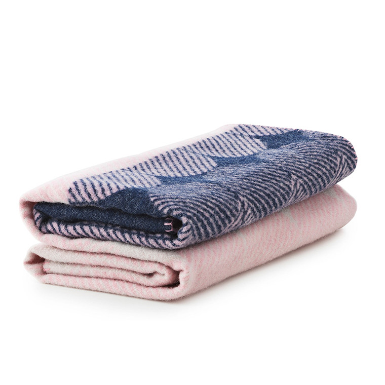 Normann Copenhagen Ekko Plaid - Navy/Rosa