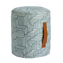 OYOY Mini Paddy Puf Cylinder Tourmaline
