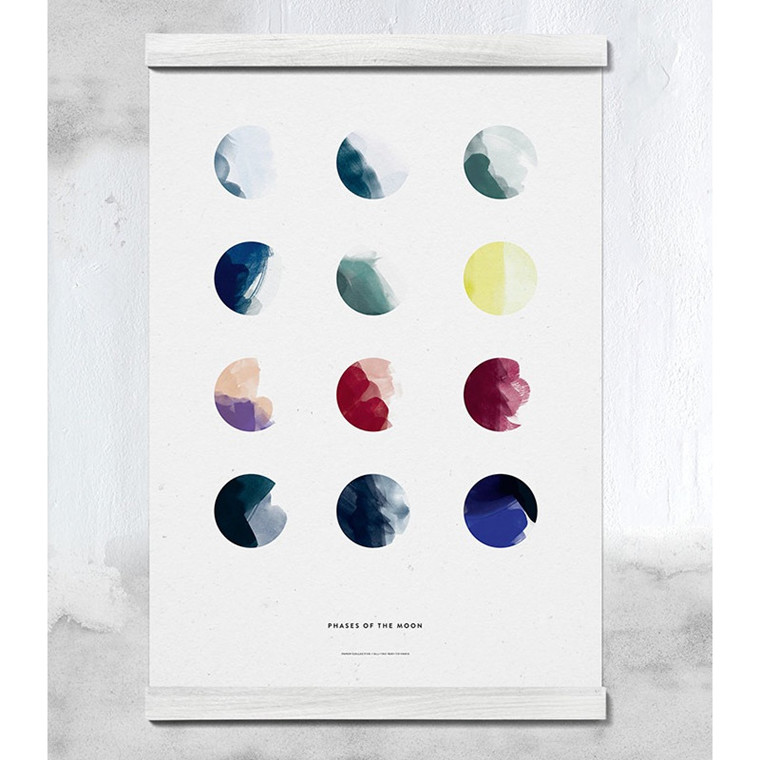 Paper Collective Plakat Moon Phases