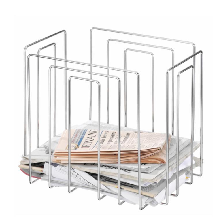 Paper Collector Magasinholder Krom