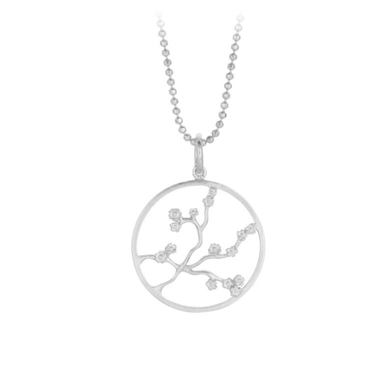 Pernille Corydon Halskæde Sakura Sølv