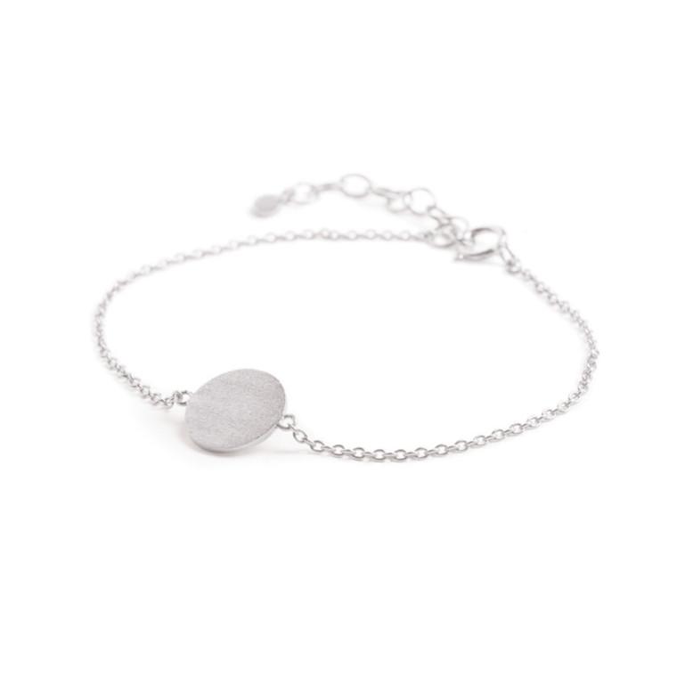 Pernille Corydon Armbånd Small Coin Sølv