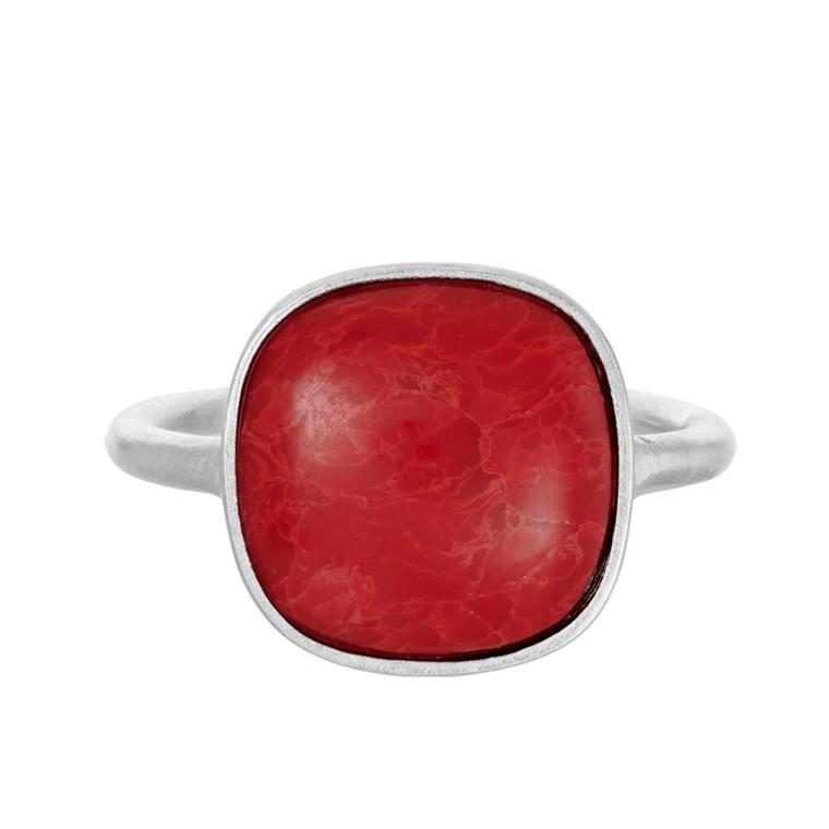 Pernille Corydon Ring Coral Sølv