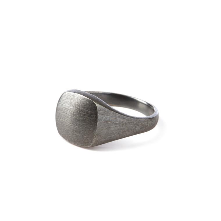 Pernille Corydon Ring Signet Rhodineret