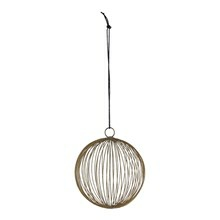 House Doctor Ornament Circles Guld