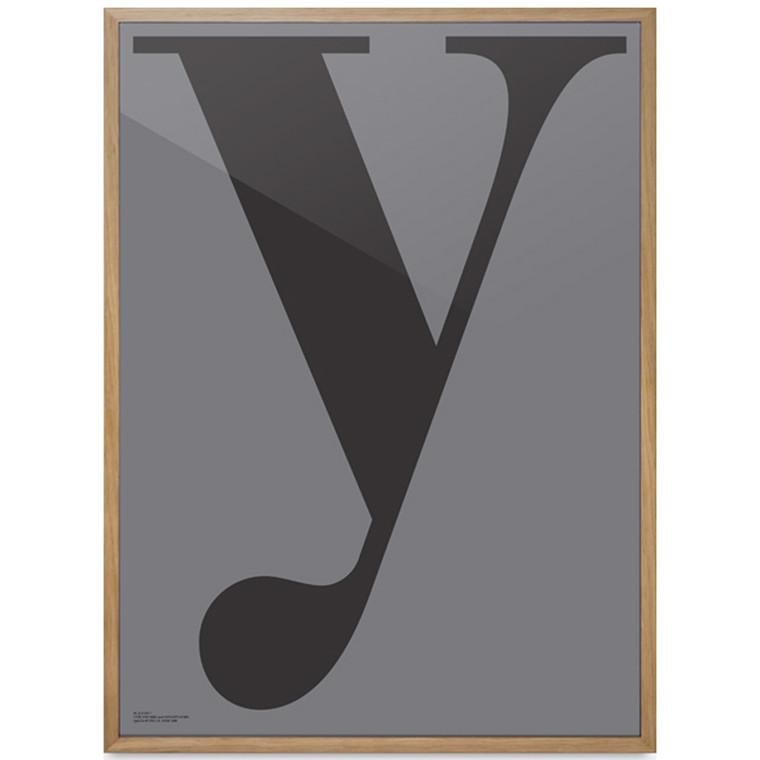 """Playtype """"Y"""" plakat"""
