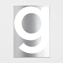 Playtype G Mirror Plakat