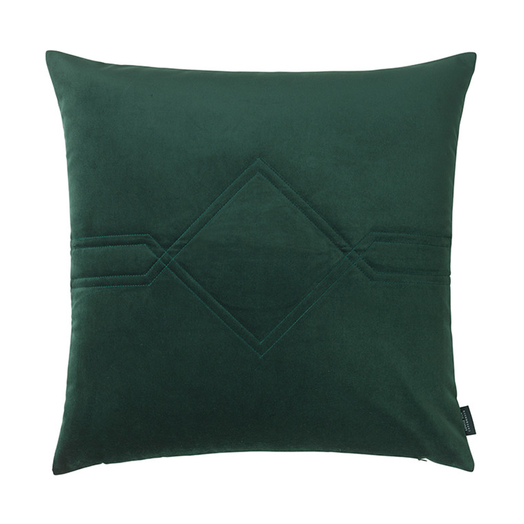Louise Roe pude Diamond Velvet Jade Green 60 x 60 cm