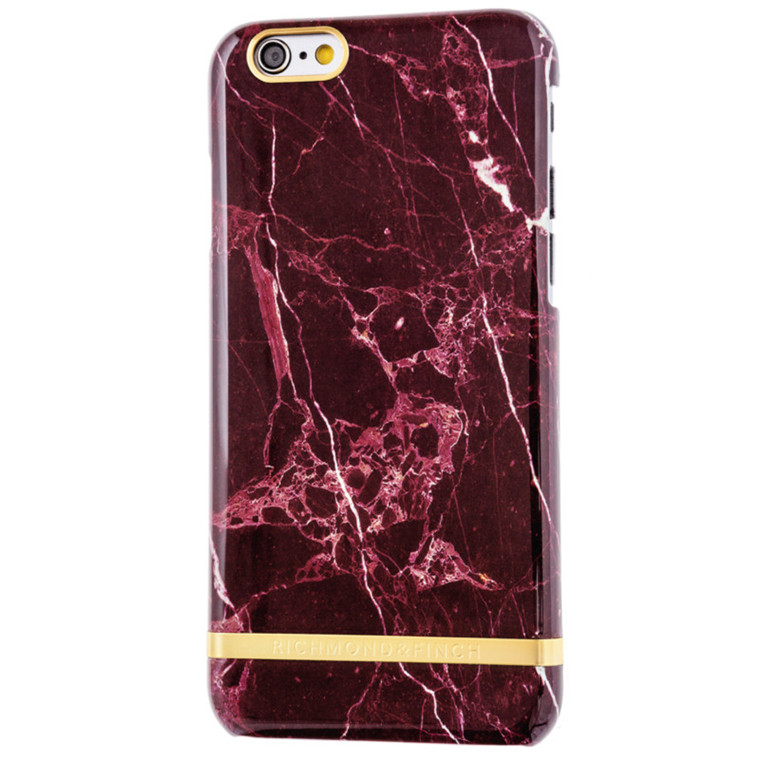 Richmond and Finch Iphone Cover Red marble 6/6S