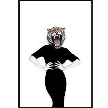 Sanna Wieslander Art Wilma Wildcat Illustration