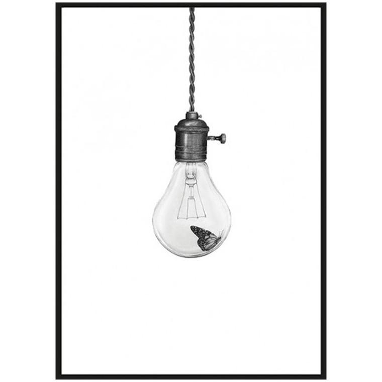 Sanna Wieslander Art Flying Light Illustration