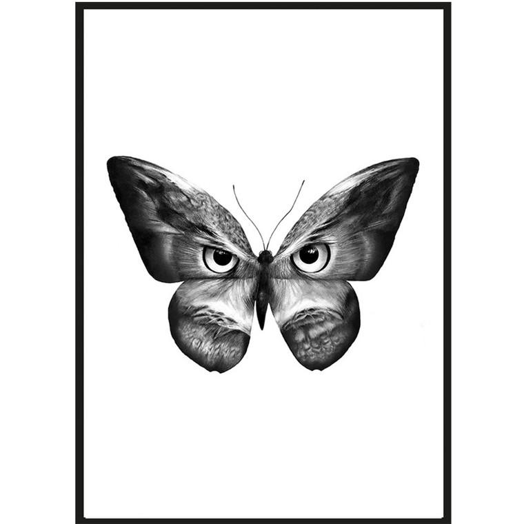 Sanna Wieslander Art Owlifly Postkort