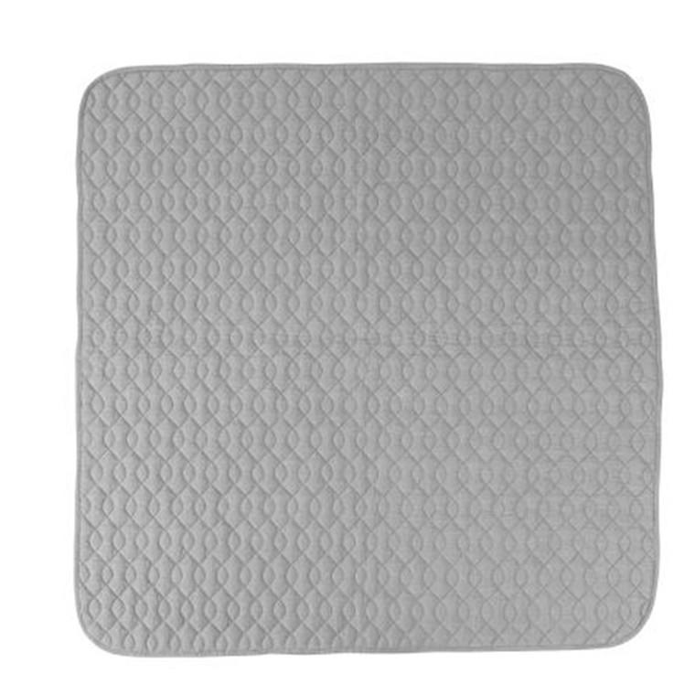 Sebra Quiltet tæppe grå