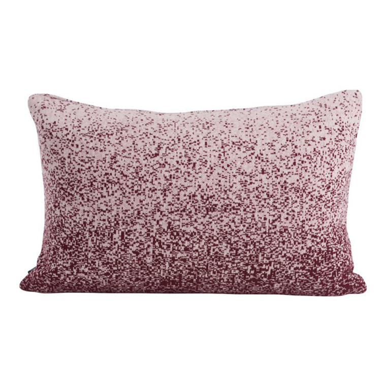 SemiBasic Pude Pixl Cushion Bordeaux 40x60 cm