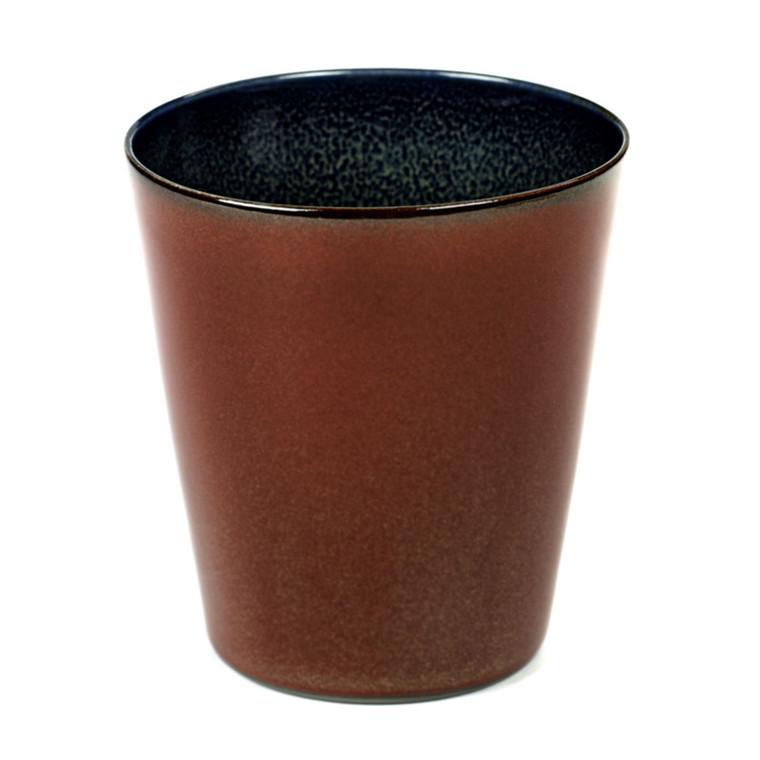 Serax Goblet Conic Rust-Mørkeblå Mellem