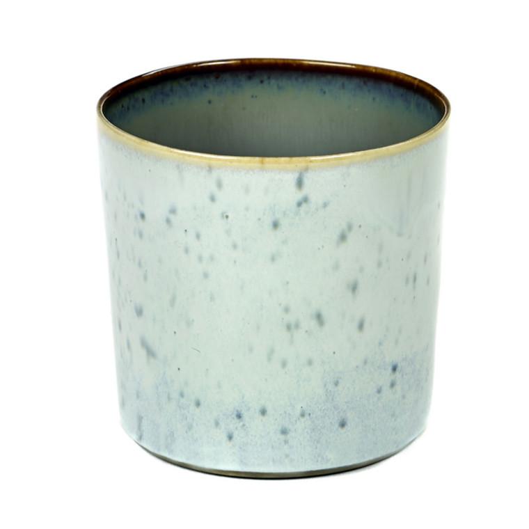 Serax Goblet Cylinder Høj Lys Blå-Smokey Blå