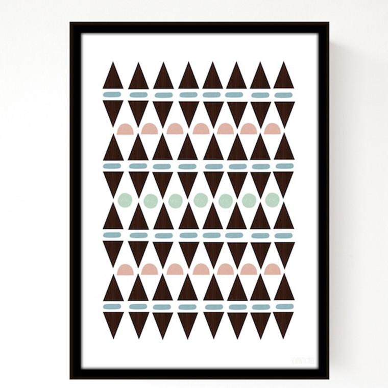 Seventy Tree Aztec triangles A3