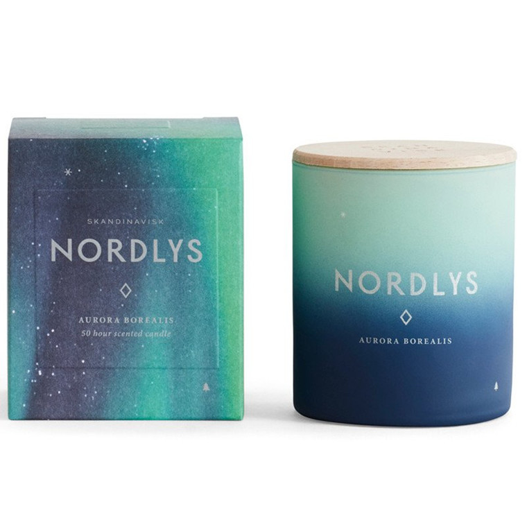 Skandinavisk Duftlys Nordlys