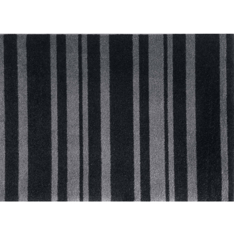 Skriver Collection Dørmåtte Trendmat Deluxe Black Stripe