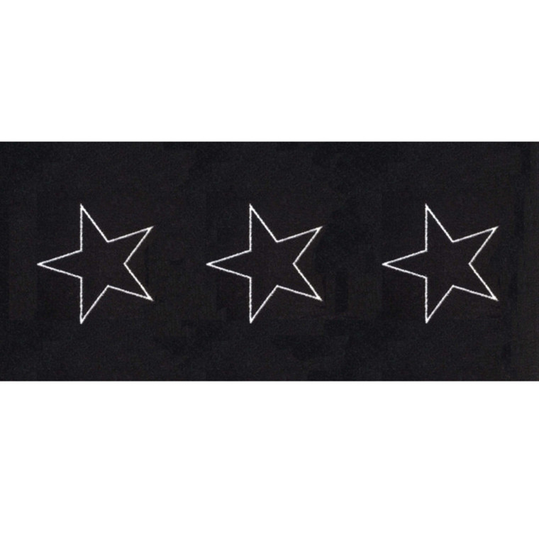 Skriver Collection Dørmåtte Trendmat Deluxe 30015 Black Star