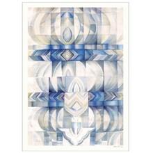 Sofie Børsting Blue Abstraction Poster