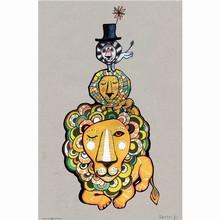Sofie Børsting Postkort Lion Poster