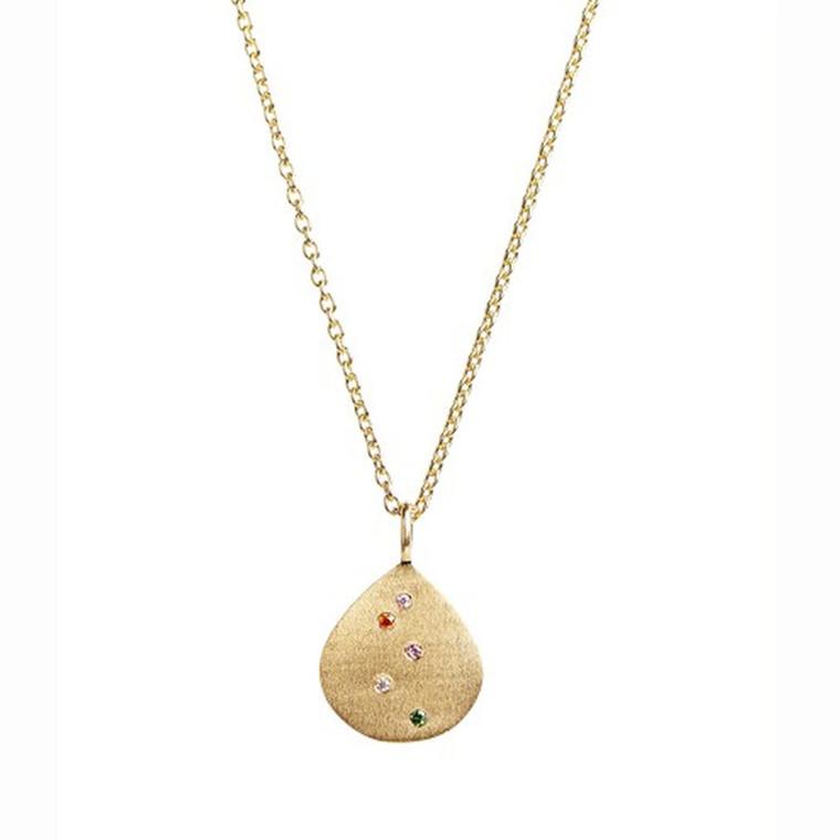 Stine A Halskæde Confetti Shell Guld